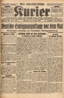 Der Oberschlesische Kurier, 1929, Jg. 23, Nr. 133