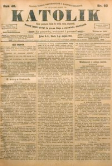 Katolik, 1907, R. 40, nr 93