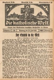 Die Katholische Welt, 1929, Jg. 4, Nr. 25
