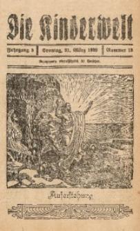 Die Kinderwelt, 1929, Jg. 3, Nr. 13
