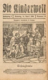 Die Kinderwelt, 1929, Jg. 3, Nr. 15