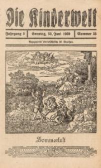 Die Kinderwelt, 1929, Jg. 3, Nr. 25