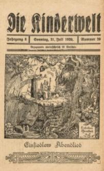 Die Kinderwelt, 1929, Jg. 3, Nr. 29
