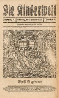 Die Kinderwelt, 1929, Jg. 3, Nr. 51