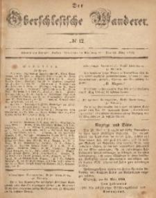 Der Oberschlesische Wanderer, 1866, Jg. 39, No. 12