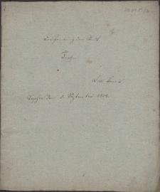 Beschreibung der Stadt Teschen / Lex Joannis. Teschen den 5 September 1824
