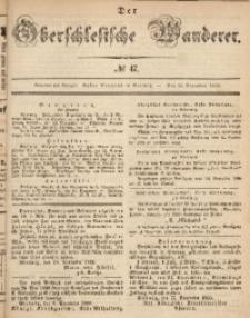Der Oberschlesische Wanderer, 1866, Jg. 39, No. 47