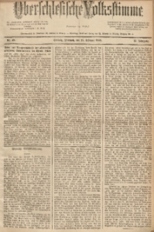 Oberschlesische Volksstimme, 1889, Jg.15, Nr. 48