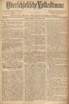 Oberschlesische Volksstimme, 1889, Jg. 15, Nr. 83