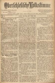 Oberschlesische Volksstimme, 1889, Jg. 15, Nr. 84