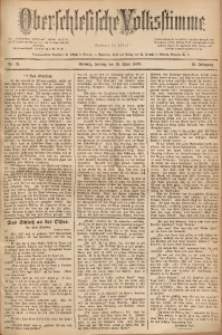 Oberschlesische Volksstimme, 1889, Jg. 15, Nr. 91