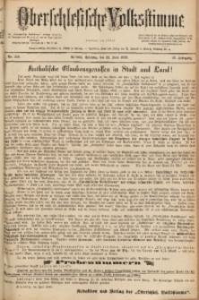 Oberschlesische Volksstimme, 1889, Jg. 15, Nr. 142