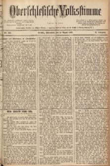 Oberschlesische Volksstimme, 1889, Jg. 15, Nr. 182