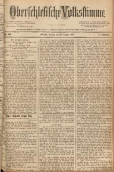 Oberschlesische Volksstimme, 1889, Jg. 15, Nr. 193