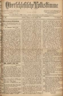 Oberschlesische Volksstimme, 1889, Jg. 15, Nr. 196