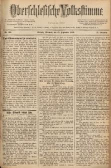 Oberschlesische Volksstimme, 1889, Jg. 15, Nr. 222
