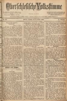 Oberschlesische Volksstimme, 1889, Jg. 15, Nr. 245