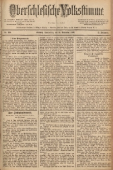 Oberschlesische Volksstimme, 1889, Jg. 15, Nr. 264