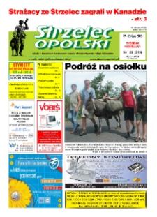 Strzelec Opolski : tygodnik regionalny : Izbicko, Jemielnica, Kolonowskie, Leśnica, Strzelce Opolskie, Ujazd, Zawadzkie 2005, nr 29 (319).
