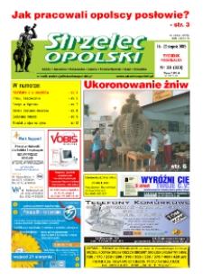 Strzelec Opolski : tygodnik regionalny : Izbicko, Jemielnica, Kolonowskie, Leśnica, Strzelce Opolskie, Ujazd, Zawadzkie 2005, nr 33 (323).