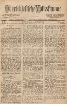 Oberschlesische Volksstimme, 1890, Jg. 16, Nr. 20