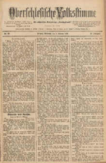 Oberschlesische Volksstimme, 1890, Jg. 16, Nr. 29