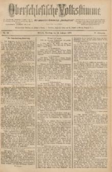 Oberschlesische Volksstimme, 1890, Jg. 16, Nr. 46