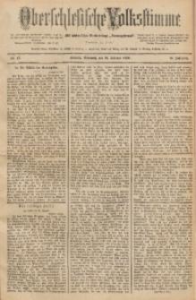 Oberschlesische Volksstimme, 1890, Jg. 16, Nr. 47