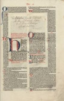 Decretum cum additionibus Bartholomaei Putei. Ed. Petrus Albignanus Trecius. [Acc.] Ioannes Diaconus: Summarium, seu Flos Decreti