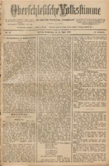 Oberschlesische Volksstimme, 1890, Jg. 16, Nr. 81