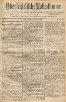 Oberschlesische Volksstimme, 1890, Jg. 16, Nr. 166