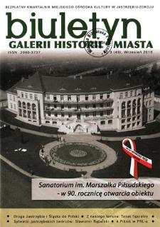 Biuletyn Galerii Historii Miasta, 2018, nr 3 (49)