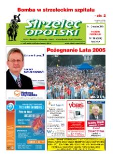 Strzelec Opolski : tygodnik regionalny : Izbicko, Jemielnica, Kolonowskie, Leśnica, Strzelce Opolskie, Ujazd, Zawadzkie 2005, nr 36 (326).