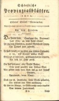 Schlesische Provinzialblätter, 1801, 34. Bd., 11. St.: November