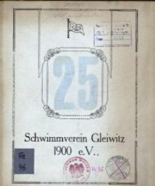 25 Jahre Schwimmverein Gleiwitz 1900