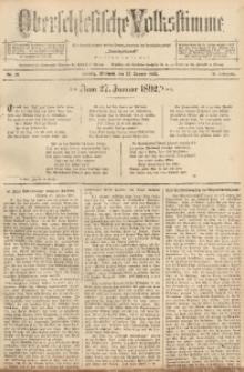 Oberschlesische Volksstimme, 1892, Jg. 18, Nr. 21