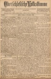Oberschlesische Volksstimme, 1892, Jg. 18, Nr. 43