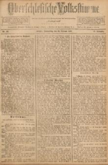 Oberschlesische Volksstimme, 1892, Jg. 18, Nr. 45