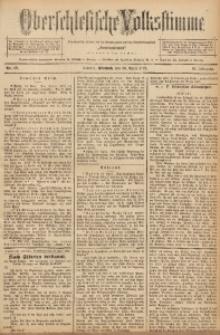 Oberschlesische Volksstimme, 1892, Jg. 18, Nr. 89