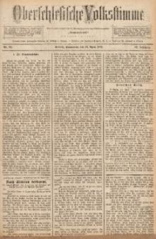 Oberschlesische Volksstimme, 1892, Jg. 18, Nr. 92