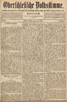 Oberschlesische Volksstimme, 1892, Jg. 18, Nr. 166