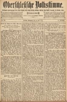 Oberschlesische Volksstimme, 1892, Jg. 18, Nr. 168