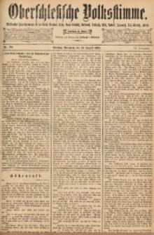 Oberschlesische Volksstimme, 1892, Jg. 18, Nr. 192