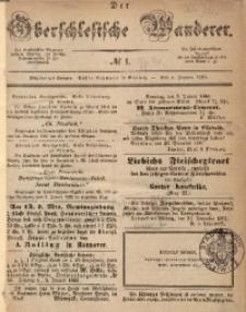 Der Oberschlesische Wanderer, 1868, Jg. 41, No. 1