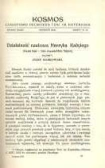 Kosmos, 1912, R. 37, z. 10/12