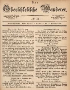 Der Oberschlesische Wanderer, 1868, Jg. 41, No. 73