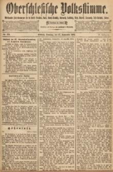 Oberschlesische Volksstimme, 1892, Jg. 18, Nr. 221