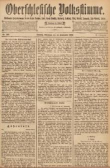 Oberschlesische Volksstimme, 1892, Jg. 18, Nr. 222