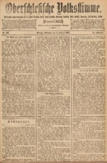 Oberschlesische Volksstimme, 1892, Jg. 18, Nr. 234
