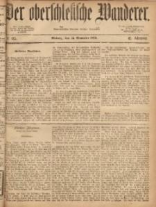 Der Oberschlesische Wanderer, 1869, Jg. 42, No. 135